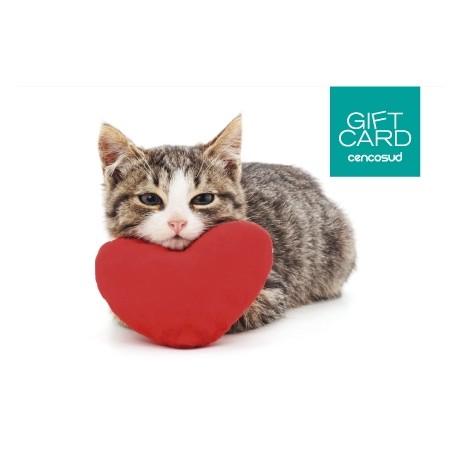 Gift Card Gato Enamorado