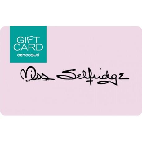 Gift Card Miss Selfridge
