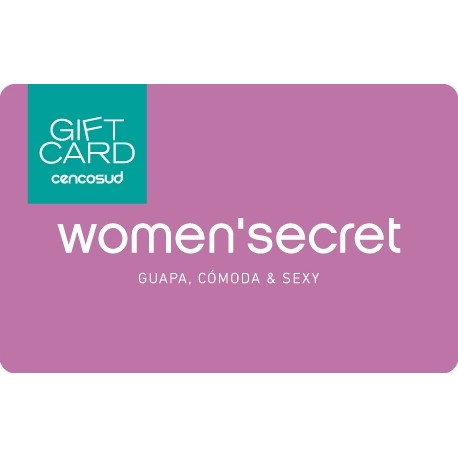Gift Card Women'Secret