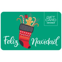 Gift Card Navidad Bota