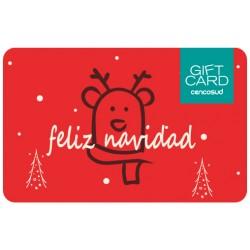 Gift Card Navidad Ciervo
