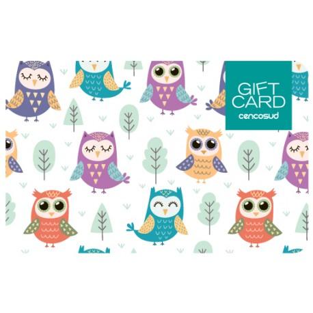 Gift Card Bebé
