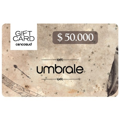 Gift Card Umbrale $ 50.000