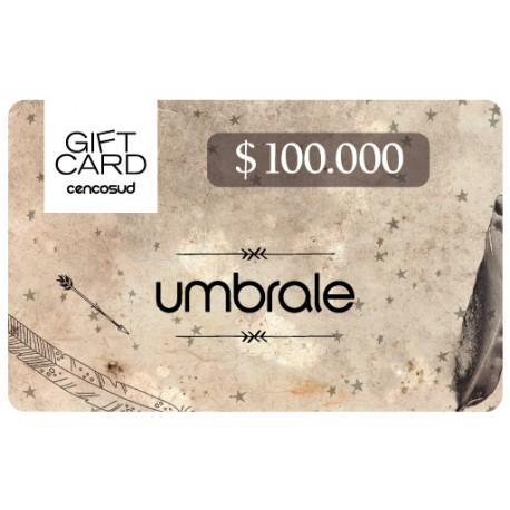 Gift Card Umbrale $ 100.000