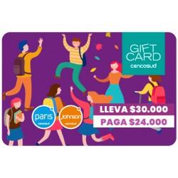 PROMOCIÓN Gift Card ESCOLARES