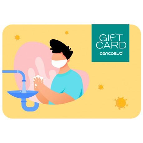 Gift Card Manos Covid-19