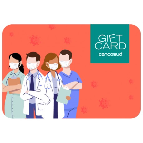 Gift Card Médicos Covid-19