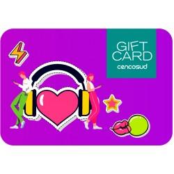 Gift Card Audífono Corazón