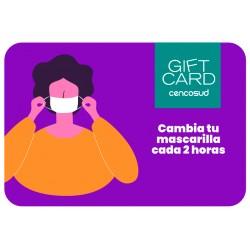 Gift Card Cambia tu Mascarilla Covid-19