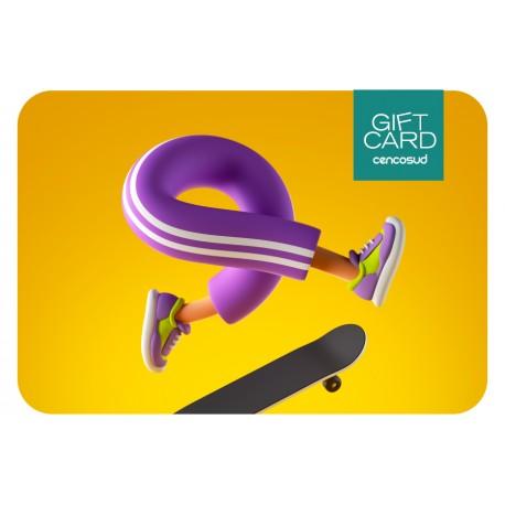 Gift Card Skater