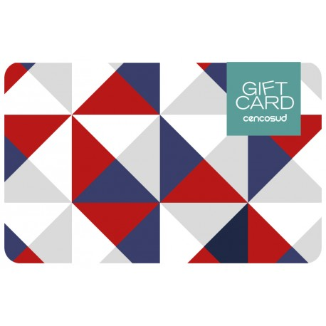 Gift Card Tricolor